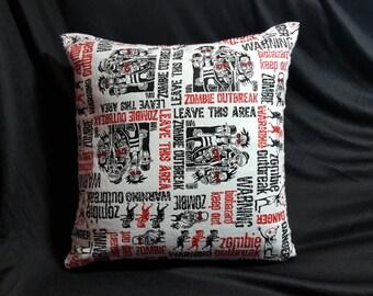 Zombie Apocalypse Pillow
