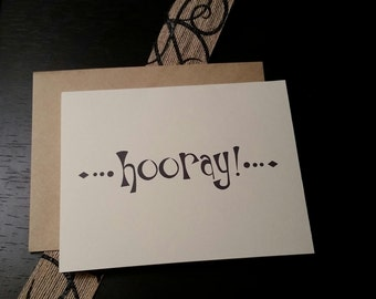 Whimsical Notecards HOORAY!