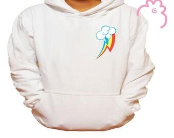My Little Pony-Rainbow Dash Cutie Mark Sweater