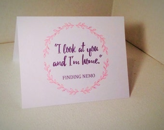 Finding Nemo Love Card