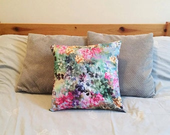 handmade cushion / pillow covers, 40x40cm Limited edition, bright floral edition.
