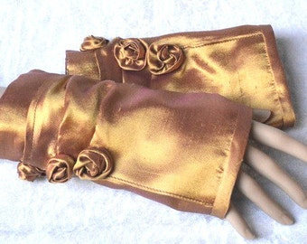 fingerless gloves, arm warmers, Steampunk gloves, fingerless mittens