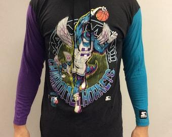 Charlotte Hornets Sweatshirt Size M
