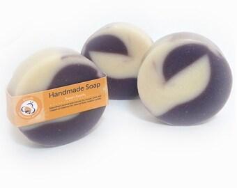 Swan Silhouette Handmade Soap