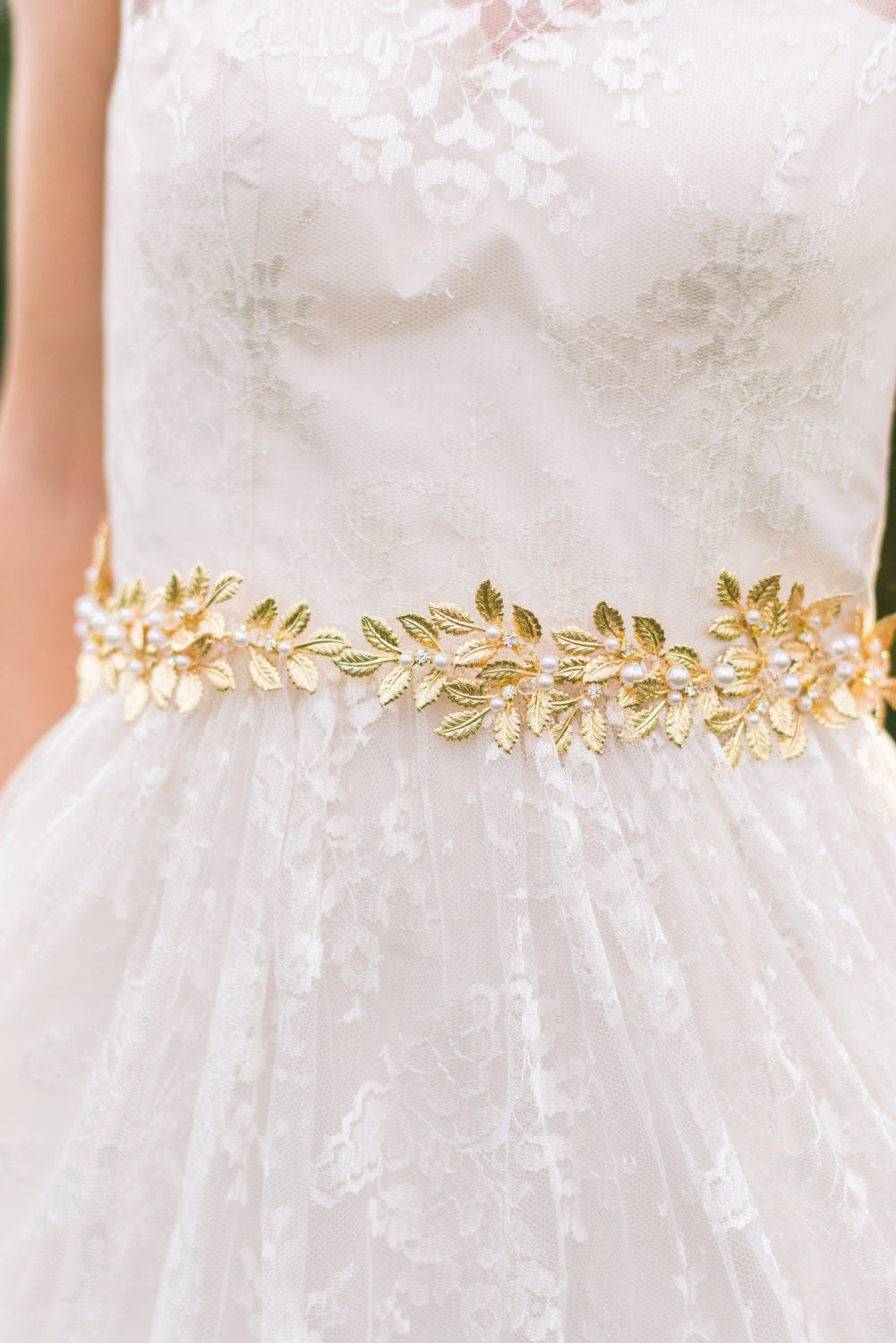 gold leaf belt bridal belt gold bridal belt gold sash bridal