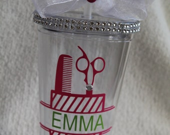 Beautician Personalized sippy cup