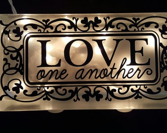 Love One Another Night Light