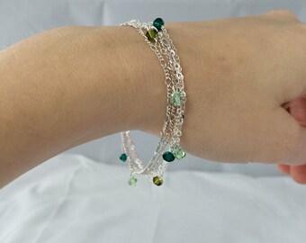 Delicate Multi-Chain Bracelet