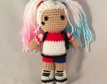 Crochet harley quinn Etsy UK