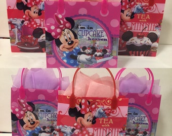 Minnie mouse personalized party bagas! 12