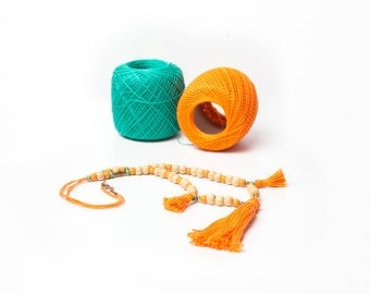 TASSEL CHAIN UPCYCLING