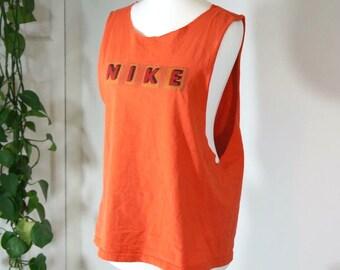 Vintage oversized nike vest / tank top 90s