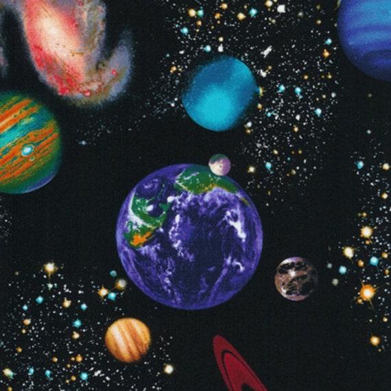Timeless treasures space c8219 galaxy blue stars for Timeless treasures space galaxy fabric