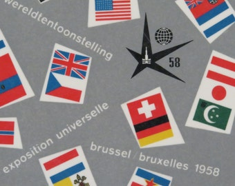Bruxelles, Brussels Expo 58 1958 World's Fair  Tray