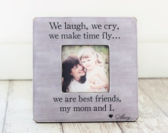 Mom Christmas Gift Best Friend Mother Daughter Picture Frame Personalized GIFT