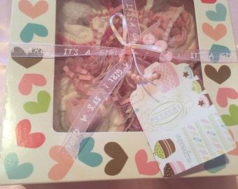 Diaper Cupcakes -Girl or Boy