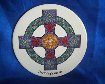 "Celtic Cross Teapot Stand ""Lindisfarne"""