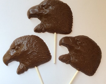 12 Chocolate Eagle pops