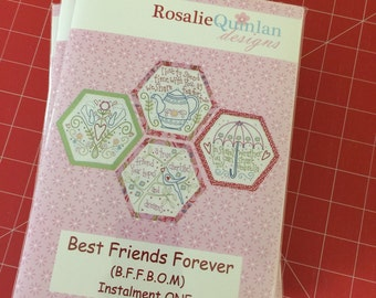 Best Friends Forever pattern set