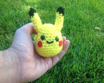 Crocheted Pikachu