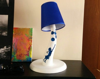 """Bed Lamp """"Girl with ballons"""""""