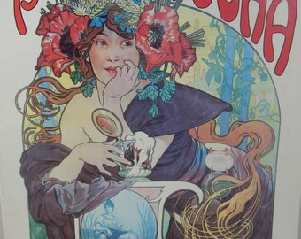 Posters Of Mucha Book