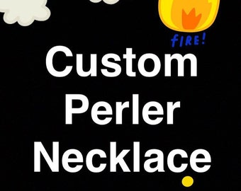 Custom Perler Necklace