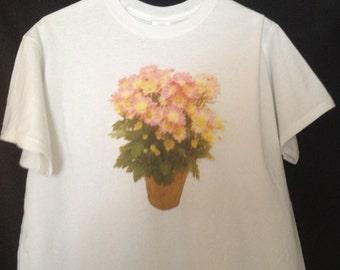 Adult Flower Pot Shirt
