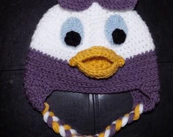 Daisy Duck Crochet Hat