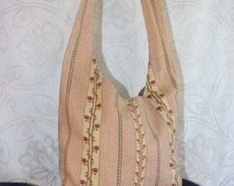 Earthtones Hobo Crossbody Slouch Bag
