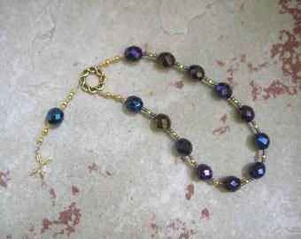 Neith (Nit) Pocket Prayer Beads: Egyptian Goddess of Wisdom, War and the Hunt