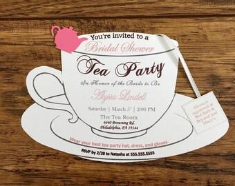 Tea Party Invitation!