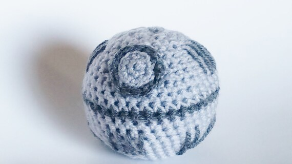 Death Star Amigurumi Pattern : Amigurumi Crochet Death Star