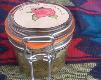 Lemon Thyme Salt Scrub 8oz