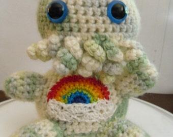 Rainbow Carethulu Plushie