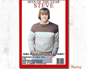 surprise 60th birthday invitation, surprise adult birthday, surprise birthday invitation printable, surprise man birthday invitations