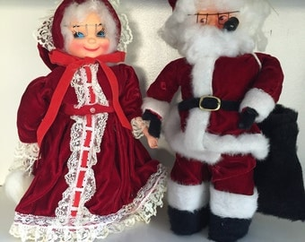 Santa soap dolls