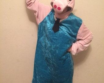 Daddy pig costume.