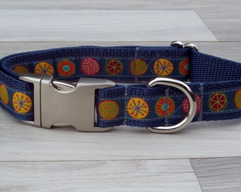 Designer Dog Collar - Magic Circles