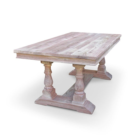 Dining Table Table Reclaimed Wood Kitchen Table Trestle