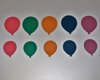 Balloon Bouquet Die Cuts In Color 2016-18