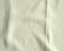 Ivory Crepe Georgette fabric, off-white, bridal, wedding, heavier weight, large piece more than 2m, 148cm wide,