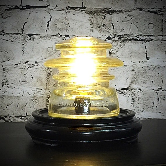 Items Similar To Industrial Lighting: Items Similar To Glass Insulator Light