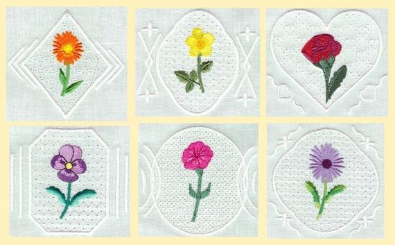 Floral motifs machine embroidery designs