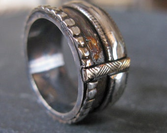 man wedding band man wedding ring viking ring rustic man wedding band viking wedding ring unique - Viking Wedding Rings