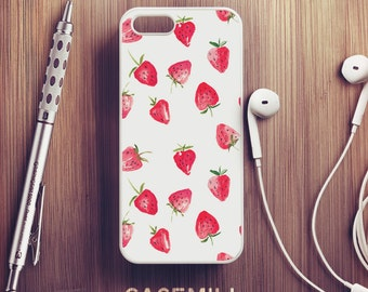 Strawberry Pattern iPhone 6 Case iPhone 6s Case iPhone 6 Plus Case iPhone 6s Plus Case iPhone 5s Case iPhone 5 Case iPhone 5c Case