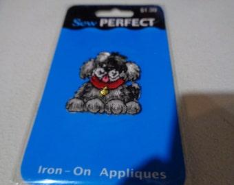 Iron on appliques