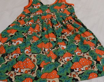 Girls spring dress size 5/6 years