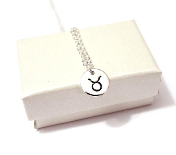 Taurus Constellation Necklace: Taurus Necklace Sterling Silver Taurus By BridesmaidsGiftNicol