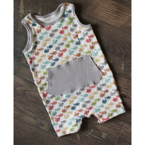 Baby Boy Romper neutral baby clothes Organic Baby Clothing